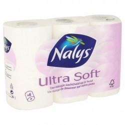 Nalys Ultra Soft Papier Toilette 2 Épaisseurs x 6