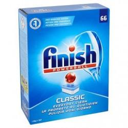 FINISH Powerball Classic citron  66 tabs *Cuisine *Pastilles *Parfum: citron