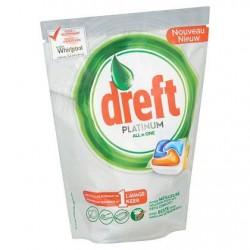 DREFT Platinum All in 1 Orange  40 tabs *Cuisine *Tablettes *Très puissant, parfum orange