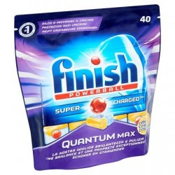 FINISH Powerball Quantum Max citron  40 t *Cuisine *Tablettes *Parfum citron