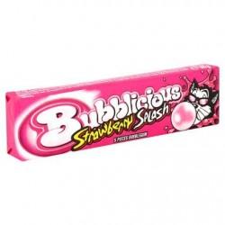 Bubblicious Strawberry Splash x5 38 g