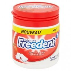 Freedent Goût fraise 84 g