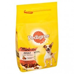 Pedigree Vital Protection Adult Mini -10 kg au Boeuf et aux Légumes 1,5 kg