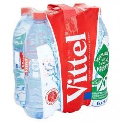 VITTEL eau minérale naturelle  6 x 1L