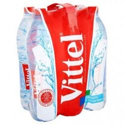 VITTEL eau minérale naturelle  6 x 1,5 L
