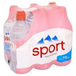 EVIAN eau min.nat. bouchon sport  6 x 75 cl