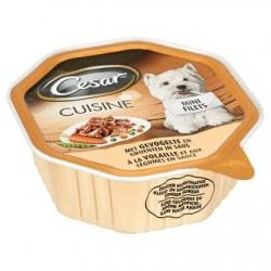 Cesar Cuisine Mini Filets à la Volaille et aux Légumes en Sauce 150 g
